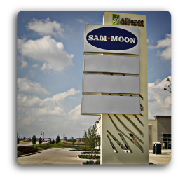 Monument signs monument signs dallas texas pro signs for Interior design firms fort worth tx