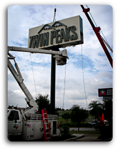 Sign Installation McKinney TX